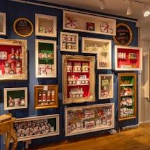 Inside Rococo Chocolates on Motcomb Street