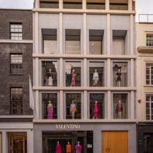 Valentino store on Old Bond Street