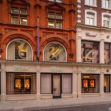 Chopard jewellery store on New Bond Street