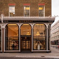 Givenchy store on New Bond Street