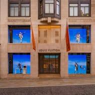 Louis Vuitton flagship store on New Bond Street