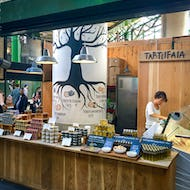 Truffel products from Tartufaia at the Borough Market