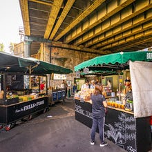 Borough Market stalls