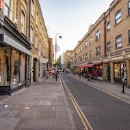 Shops on Brick Lane