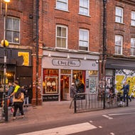 Brick Lane has a variety of stores