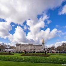 Buckingham Palace crowds