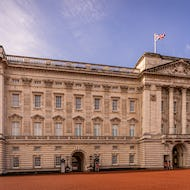 Buckingham Palace from close