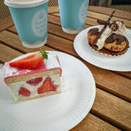 Cakes from Buckingham Palace Garden Cafe