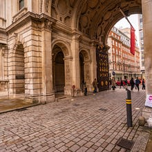 Burlington House entrance