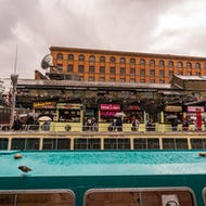 Camden Lock Market has a wide range of food stalls