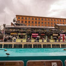 Camden Lock Market has a wide range of food stalls