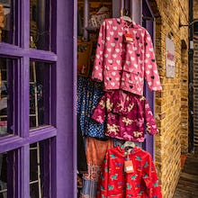 Children's clothing at Camden Lock Market