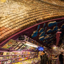 Music store in Camden Market