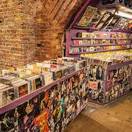 Music store selling CDs