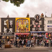 Unique stores in Camden Town