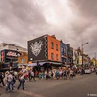 Saturday crowds in Camden Town