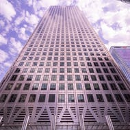 One Canada Square is the tallest building in Canary Wharf at 235m