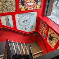 Cartoon Museum staircase