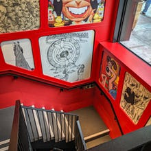 Cartoon Museum staircase