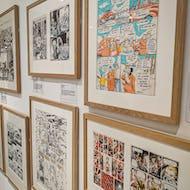 Comics at the cartoon museum