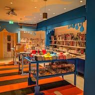 Cartoon Museum gift shop