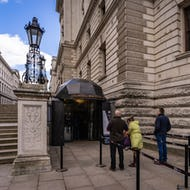 Entrance to Churchill War Rooms