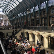 View inside of the Covent Garden Market
