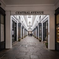 Central Avenue inside of Covent Garden Market