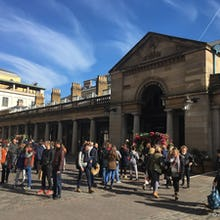 Entrance to Covent Garden Market when coming from Floral Street