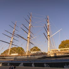 Cutty Sark from the square