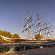 Cutty Sark from front left