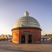 Greenwich foot tunnel entrance