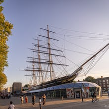 Cutty Sark from front right