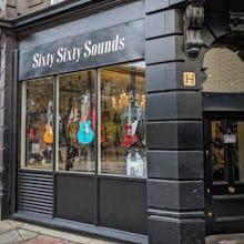 Guitar shop on Denmark Street