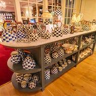 Tea pots at Fortnum & Mason