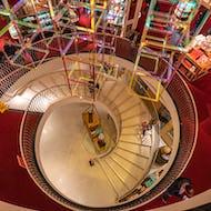Spiral staircase at Fortnum & Mason