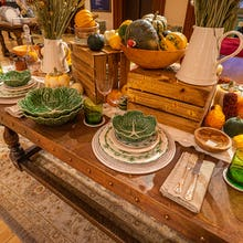 Harvest inspired tableware