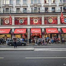 London's biggest toy store, Hamleys