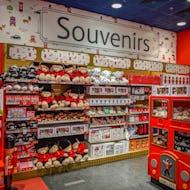 Souvenirs section at Hamleys