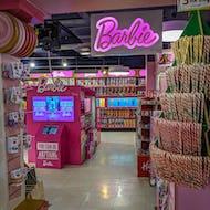 Barbie department at Hamleys