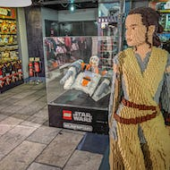 Star Wars Lego characters: Rey