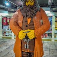 Huge Hagrid Lego character