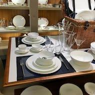 A dining set at Harrods
