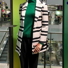 Mannequin with a blazer at John Lewis