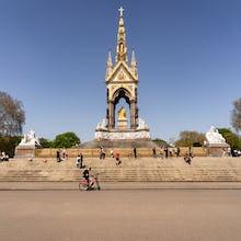 The Albert Memorial in Kensington Gardens