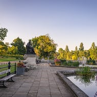 Italian Gardens is the perfect place to have a quiet read in the morning