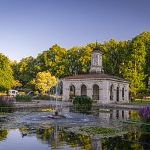 Fountains in the Italian Gardens