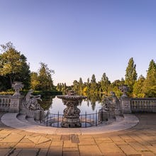 The view from Italian Gardens towards The Long Water