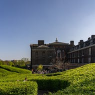 Kensington Palace path to the pavilion