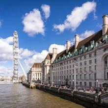 London Eye and surrounding buildings